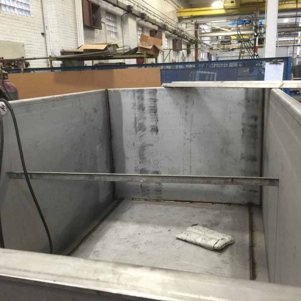 5 000 Gallon Stainless Steel Holding Tank Fabrication D