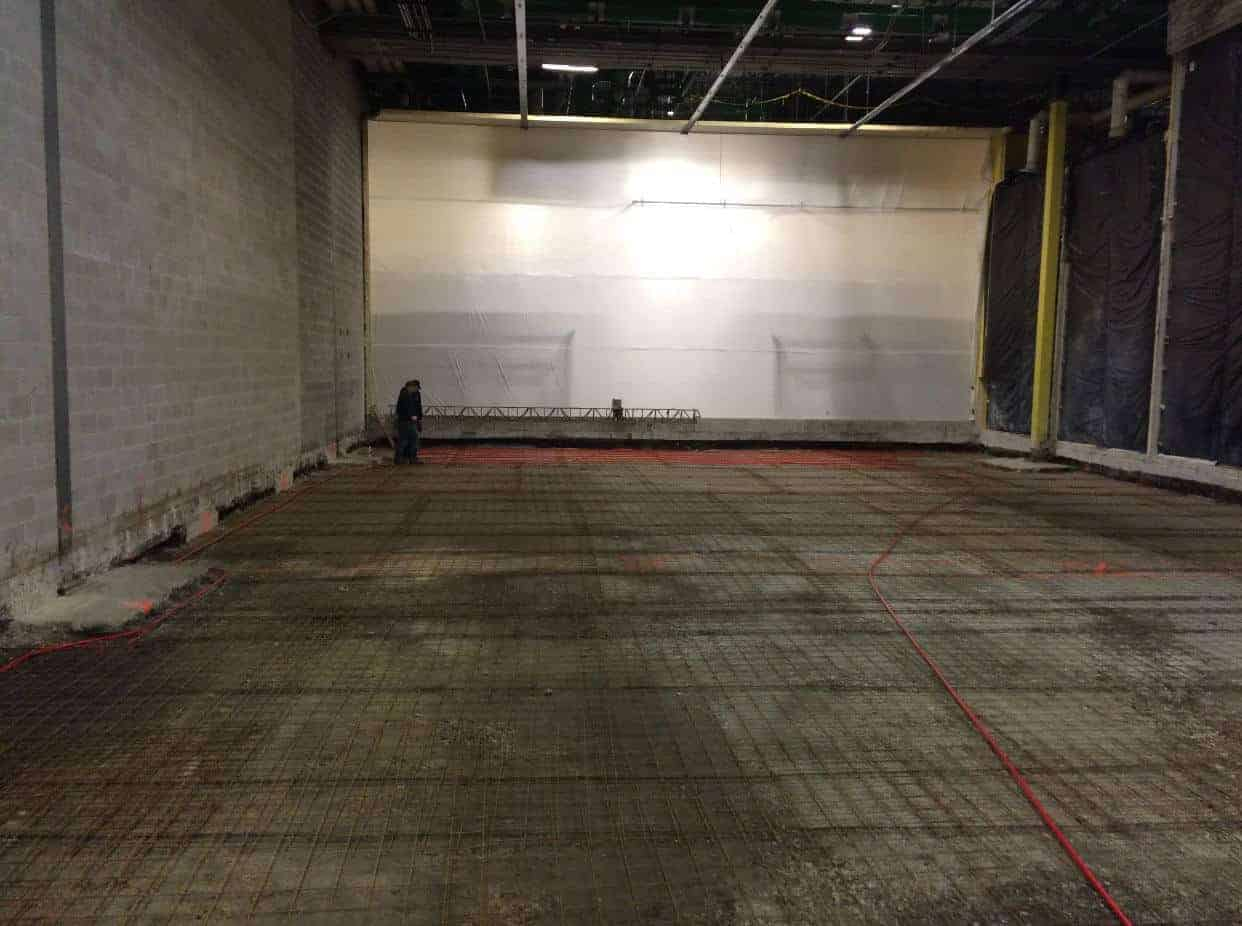 5 000 Sq Ft 10f Holding Freezer With Glycol Underfloor