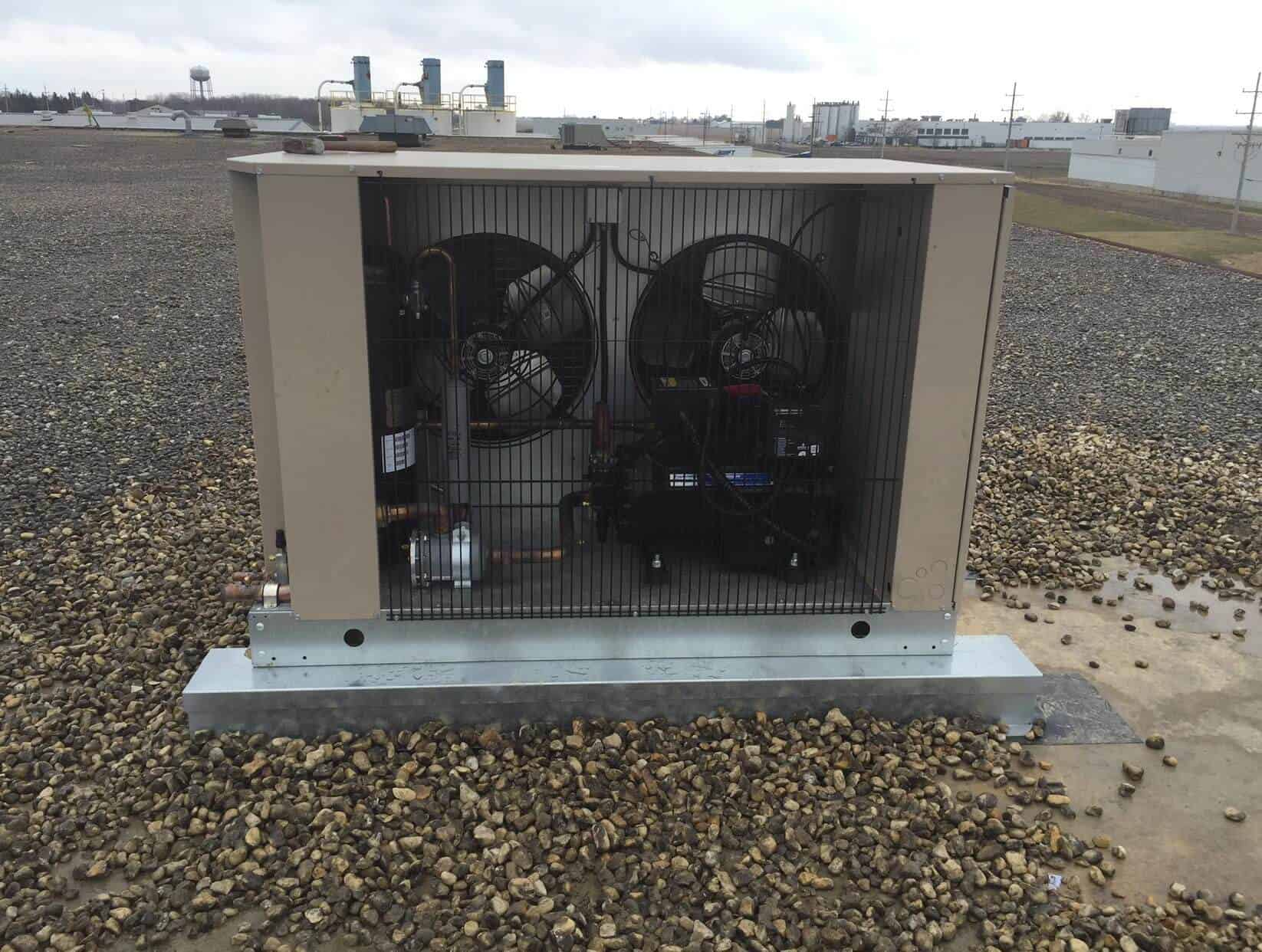 3 000 Sq Ft 36f Holding Dock Addition D Amp H Refrigeration