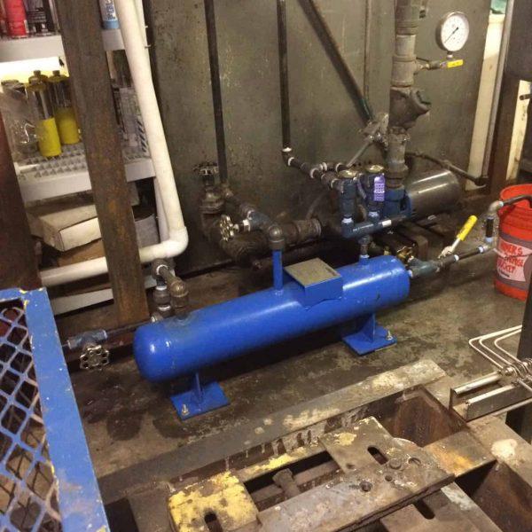 New Ammonia Transfer Tank Upgrade D Amp H Refrigeration