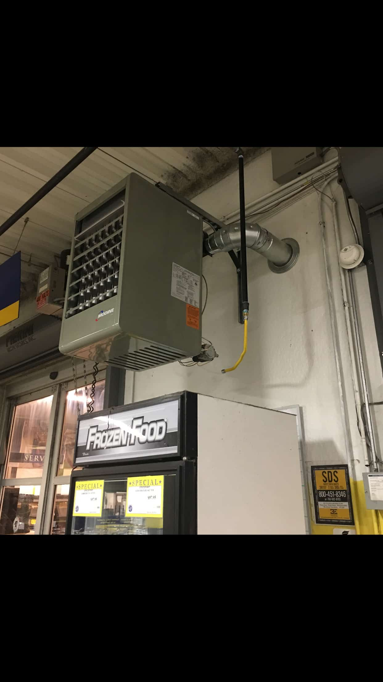 Unit Heater And Piping Installation D Amp H Refrigeration
