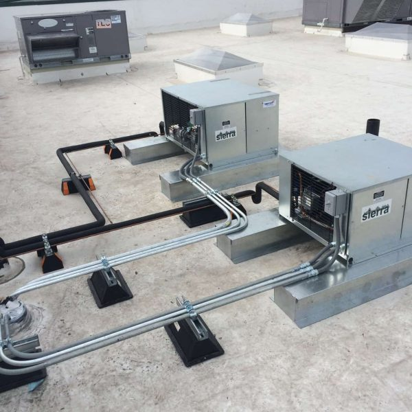 Condensing Units Install