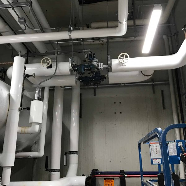 300 Ton Ammonia Glycol Heat Exchanger Process Cooling