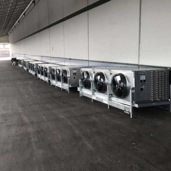 Ammonia Evaporators Install