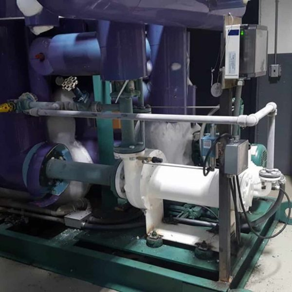 Ammonia Pump Install