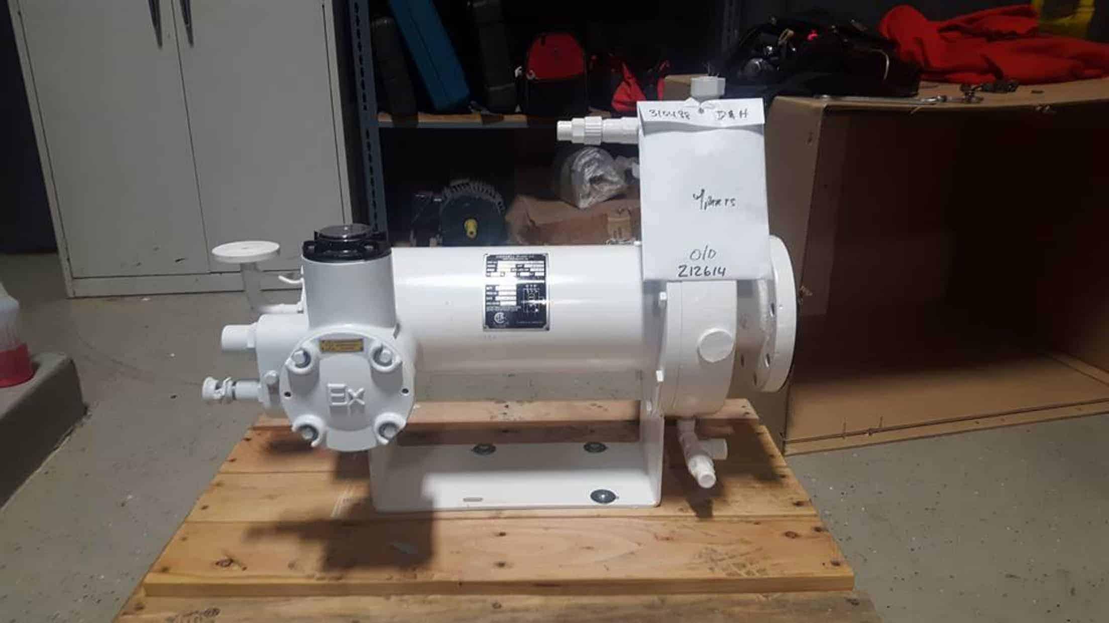 Ammonia Pump Upgrade D Amp H Refrigeration