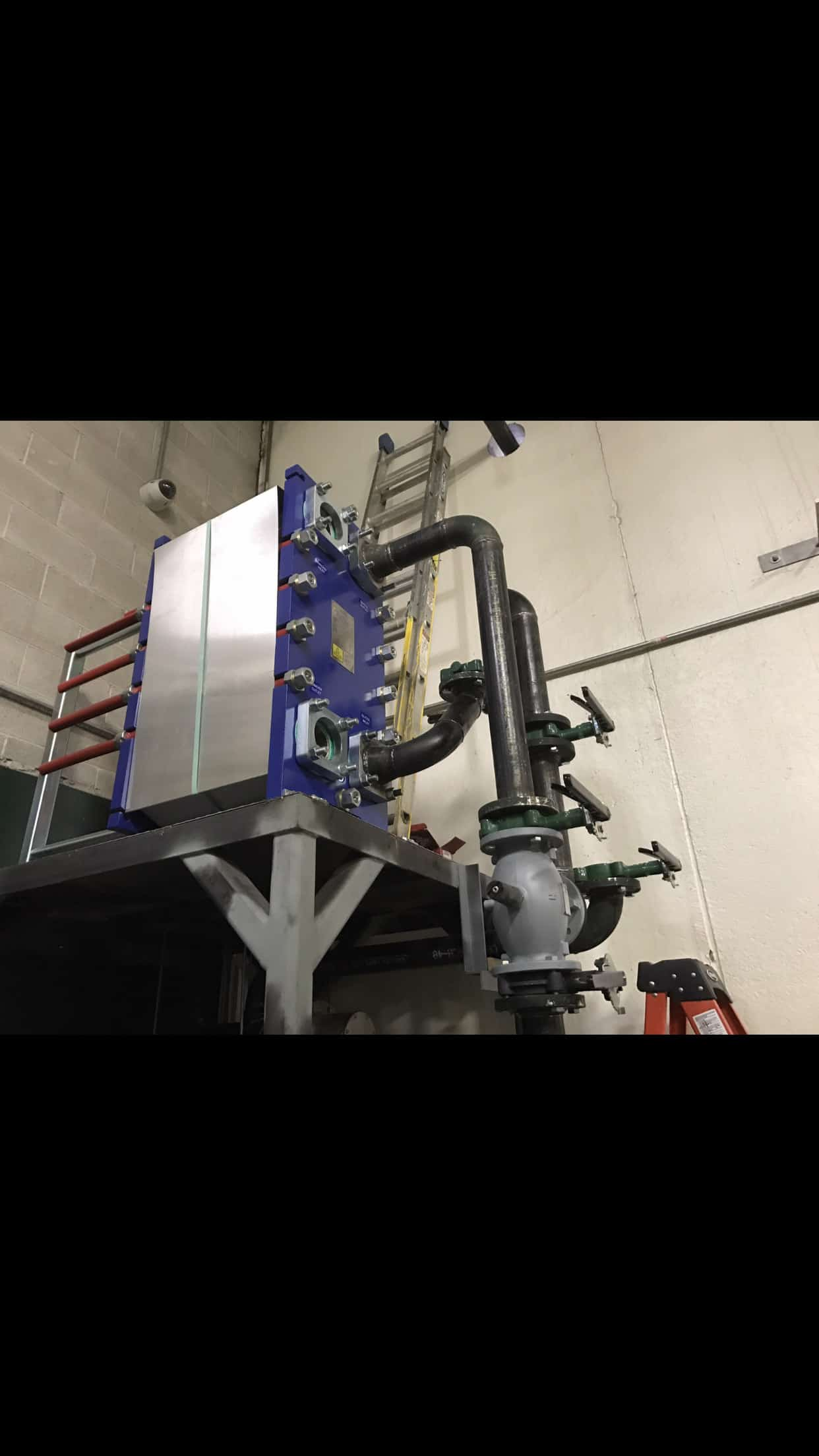 Ammonia And Glycol Dock Expansion D Amp H Refrigeration
