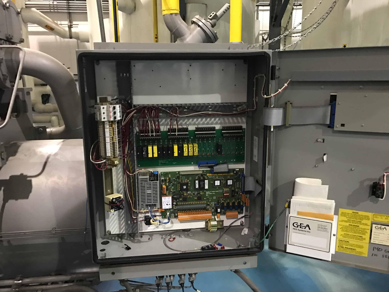 Vfd Conversion 250hp Ammonia Package D H Refrigeration Starter Panel Wiring Diagram Omni 7