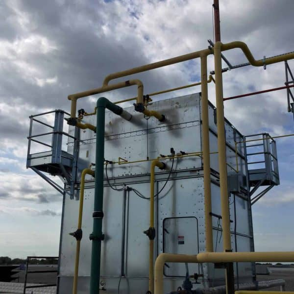 Ammonia Condenser Installation D Amp H Refrigeration